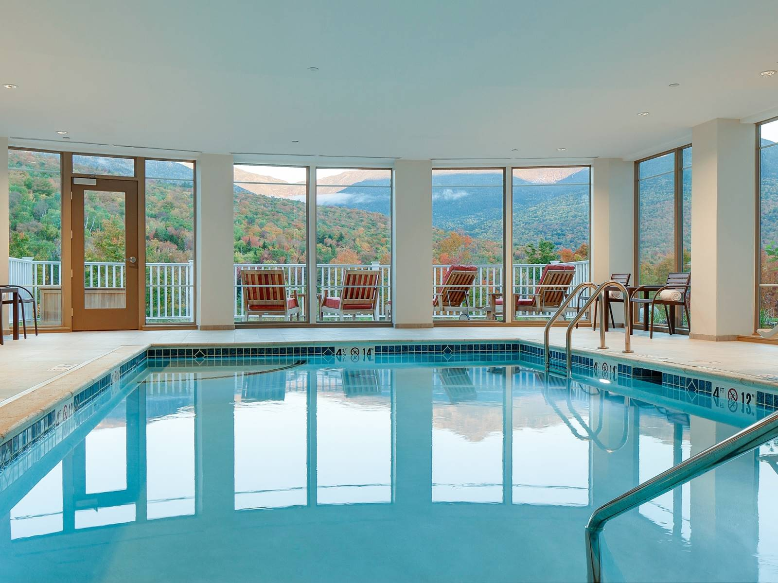 Indoor Pool at The Glen House