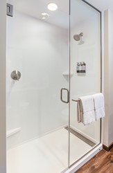 Guest Room with Walk In Shower - Non Accessible