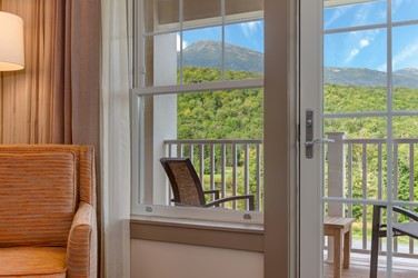 View from Guest Room of Mt Washington
