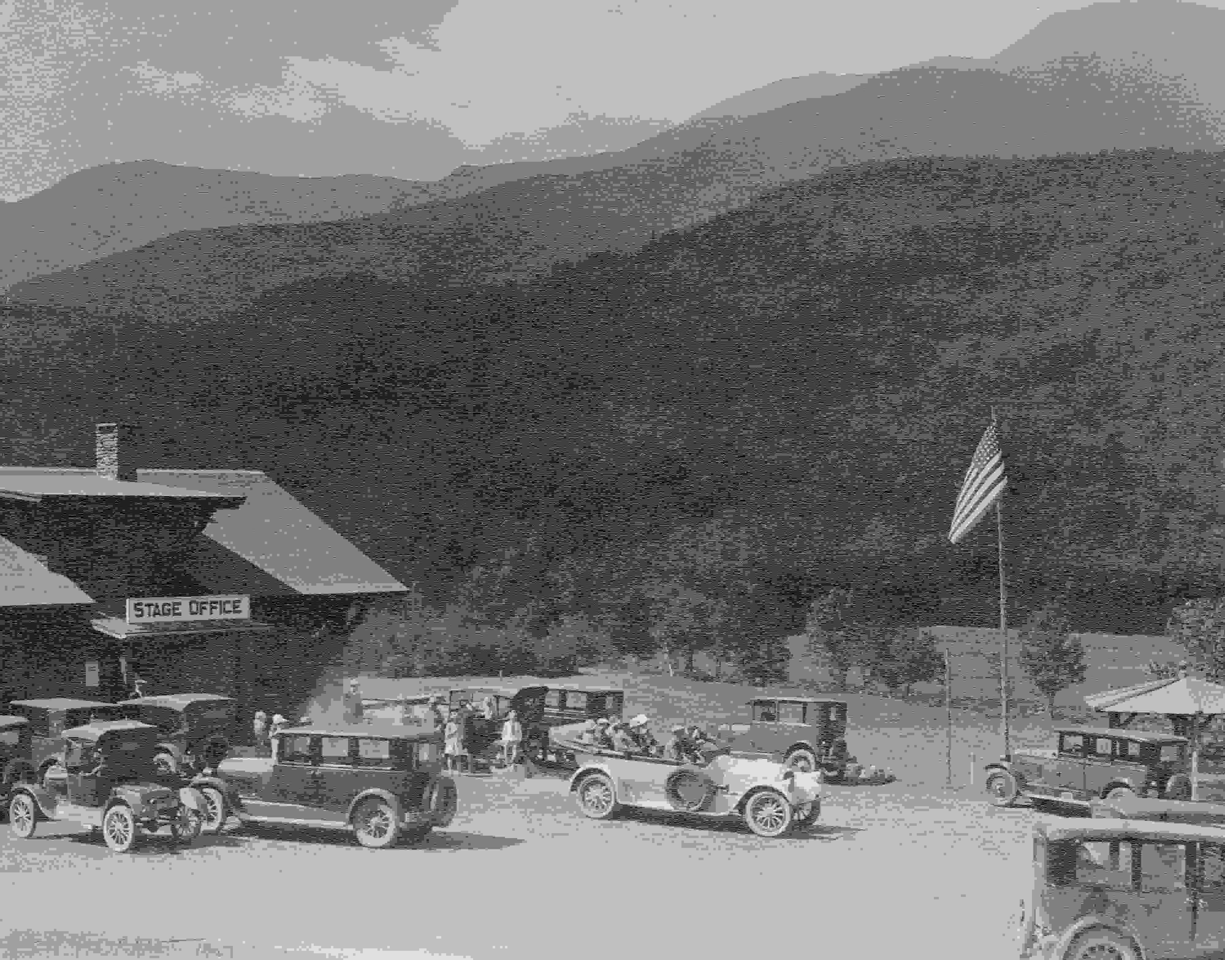 Historic Auto Road Photo