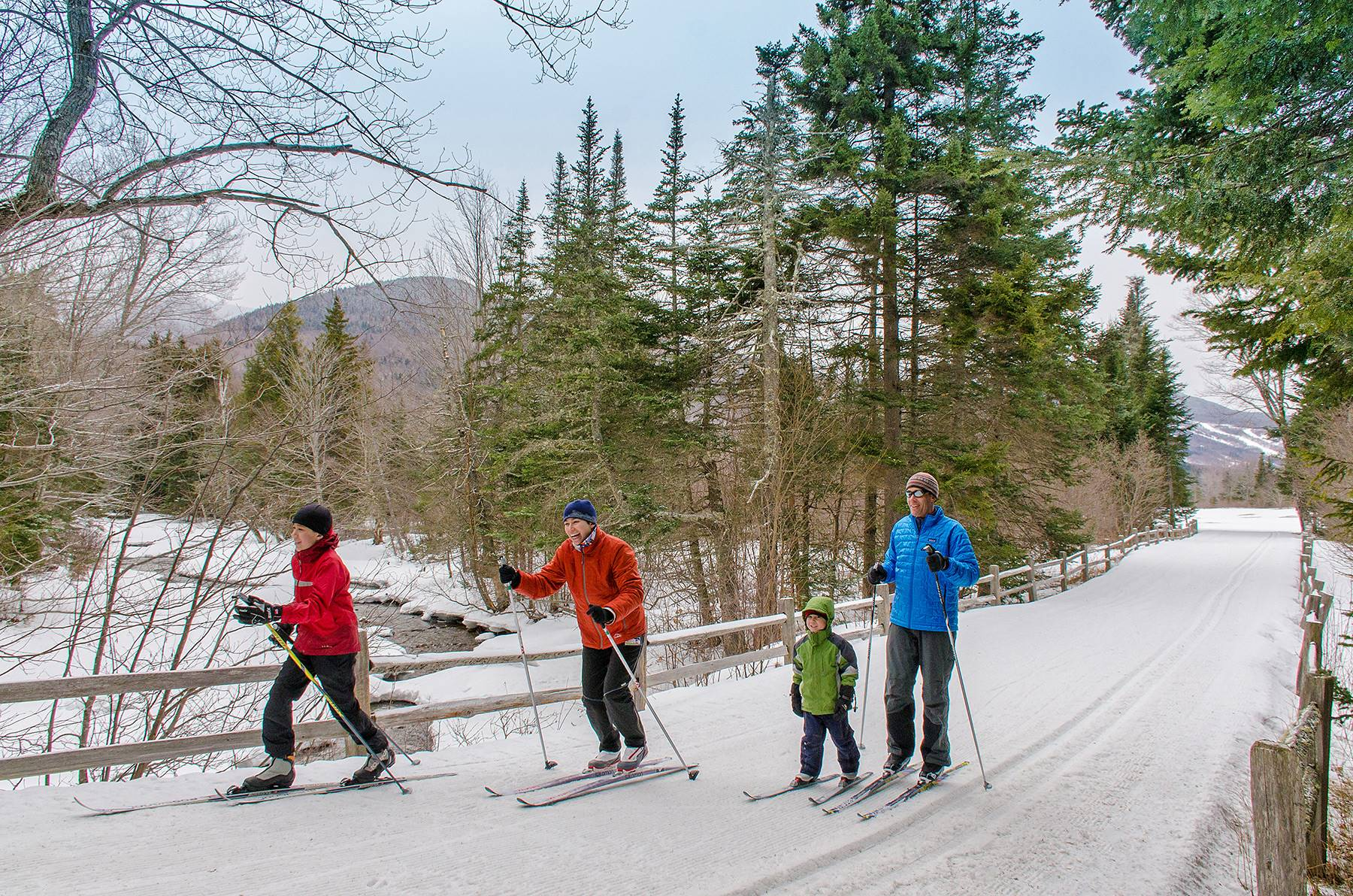 Cross Country Skiing at Great Glen Trails