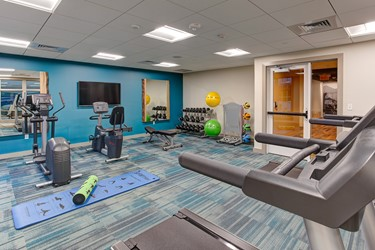 Fitness Center at The Glen House