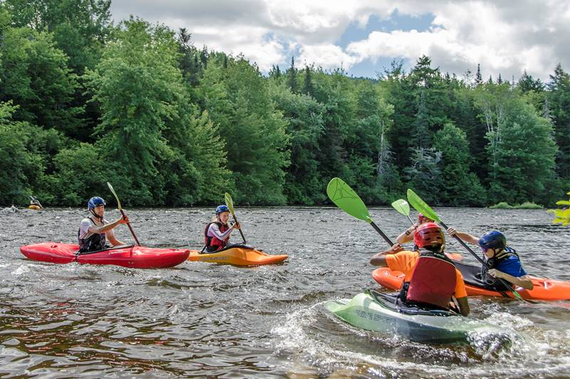 Guided Kayak Tours at Great Glen Trails